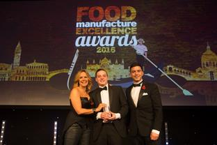 CQM T&C's Successful Young Talent Awards Winners at the Food Manufacture Excellence Awards
